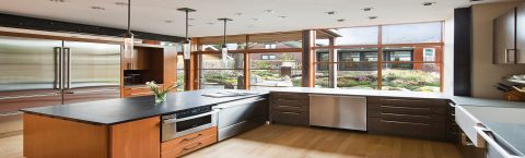 Stainless Steel Residential Kitchen